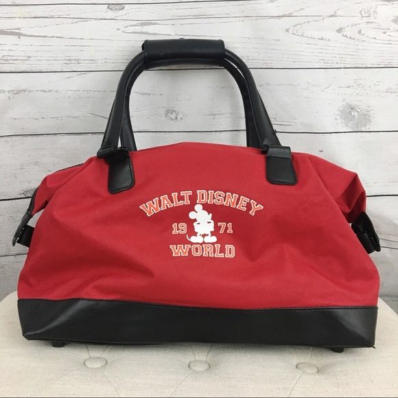 5028f1f08f4 Disney Bags | Walt World Mickey Mouse Shoulder Tote Bag | Poshmark